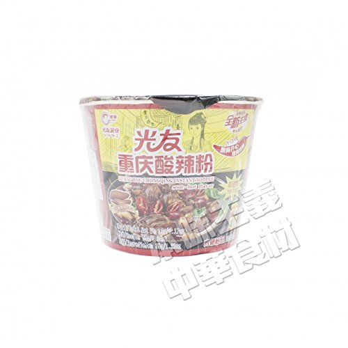 光友重慶酸辣粉(即席春雨)カップ型90g・大人気・便利・中華風