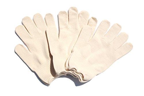 [해외]남성용 와이드 L 사이즈 쉬어 뜨게질이 미세 편안 면화 작업 장갑 3 쌍 세트 생성 큰 장갑 공방 [일제]/Men`s wide wide L size thin and comfortable cotton work gloves with fine stitches 3 double braided large garment garment factory [Made...