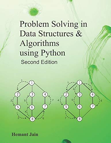 Download Problem Solving in Data Structures & Algorithms Using Python 1098963237