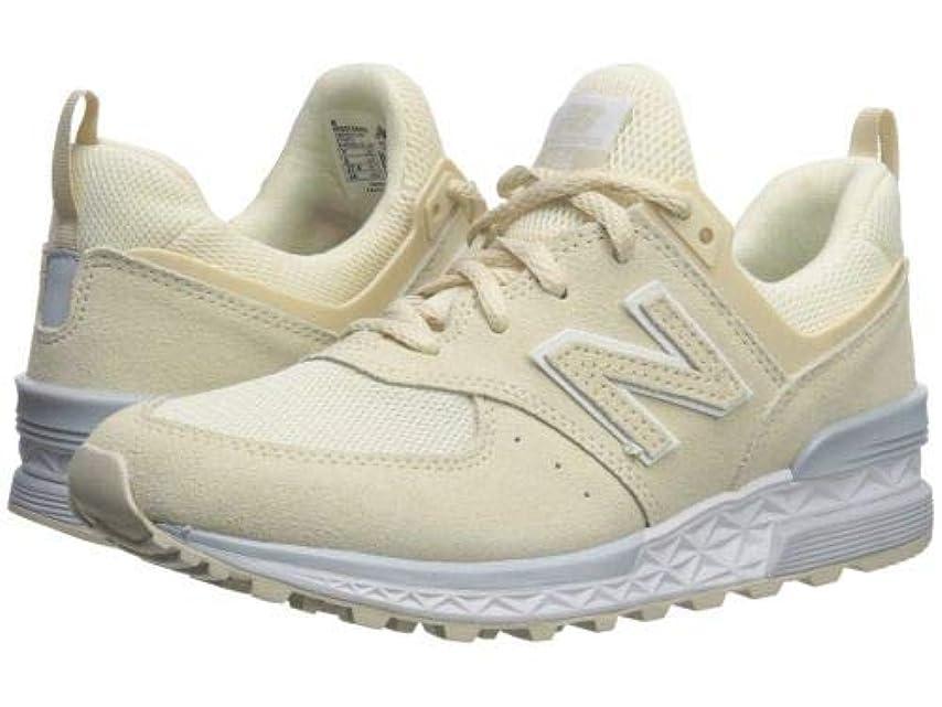 スナッチ準備した真っ逆さまNew Balance Classics(ニューバランス クラシック) レディース 女性用 シューズ 靴 スニーカー 運動靴 WS574 - Bone [並行輸入品]