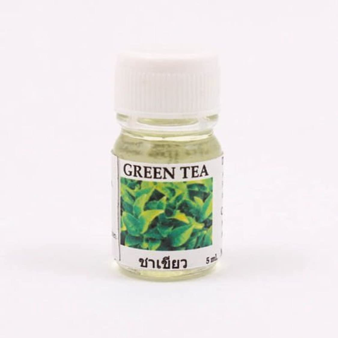 レコーダー農夫真面目な6X Green Tea Aroma Fragrance Essential Oil 5ML cc Diffuser Burner Therapy