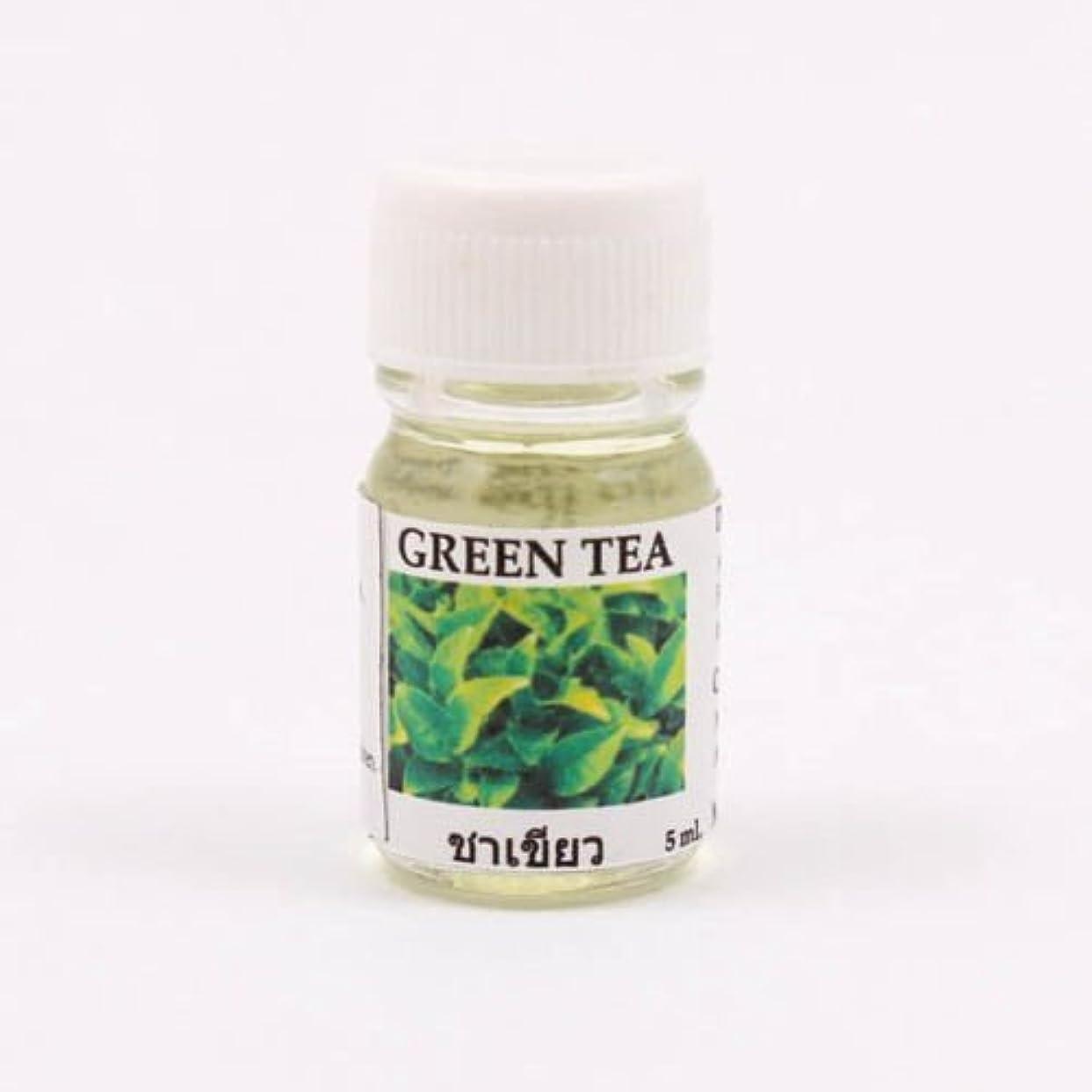 生じる端あごひげ6X Green Tea Aroma Fragrance Essential Oil 5ML cc Diffuser Burner Therapy