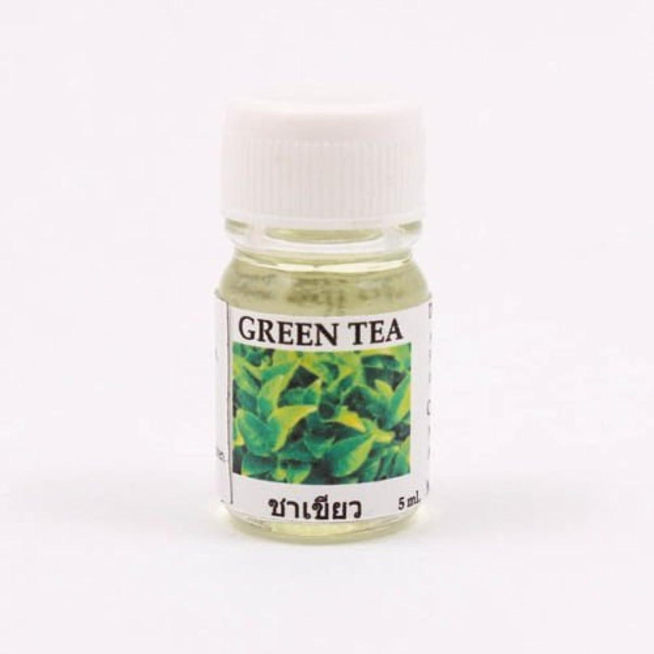蓮ポインタ不十分な6X Green Tea Aroma Fragrance Essential Oil 5ML cc Diffuser Burner Therapy