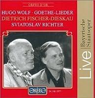 Goethe Lieder by H. Wolf