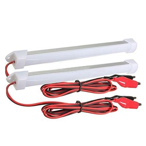 ストリップライト,SODIAL(R)2x 12V車LED S...