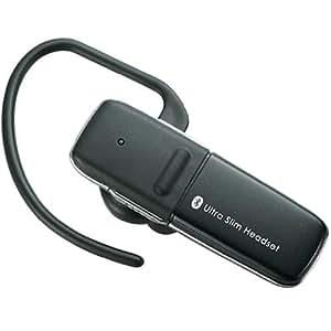 Logitec Bluetooth®/ver2.1/ヘッドセット/片耳/マイク付/携帯用/ブラック LBT-HS300C2BK