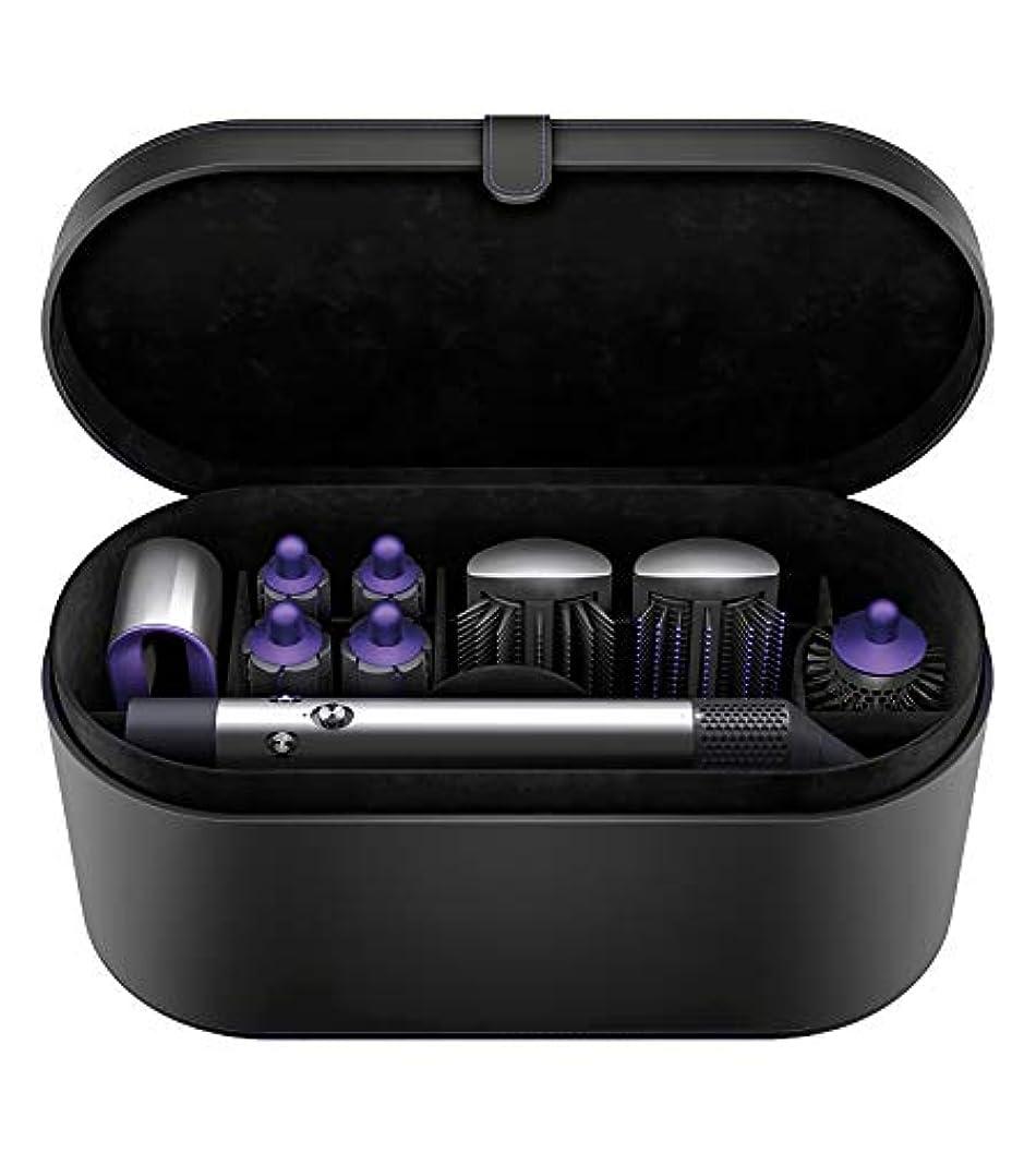ステレオタイプ消化器逃すHS01 VNS FNダイソン Airwrap™ Complete Styler Hair Styling Set (ブラック/パープル)