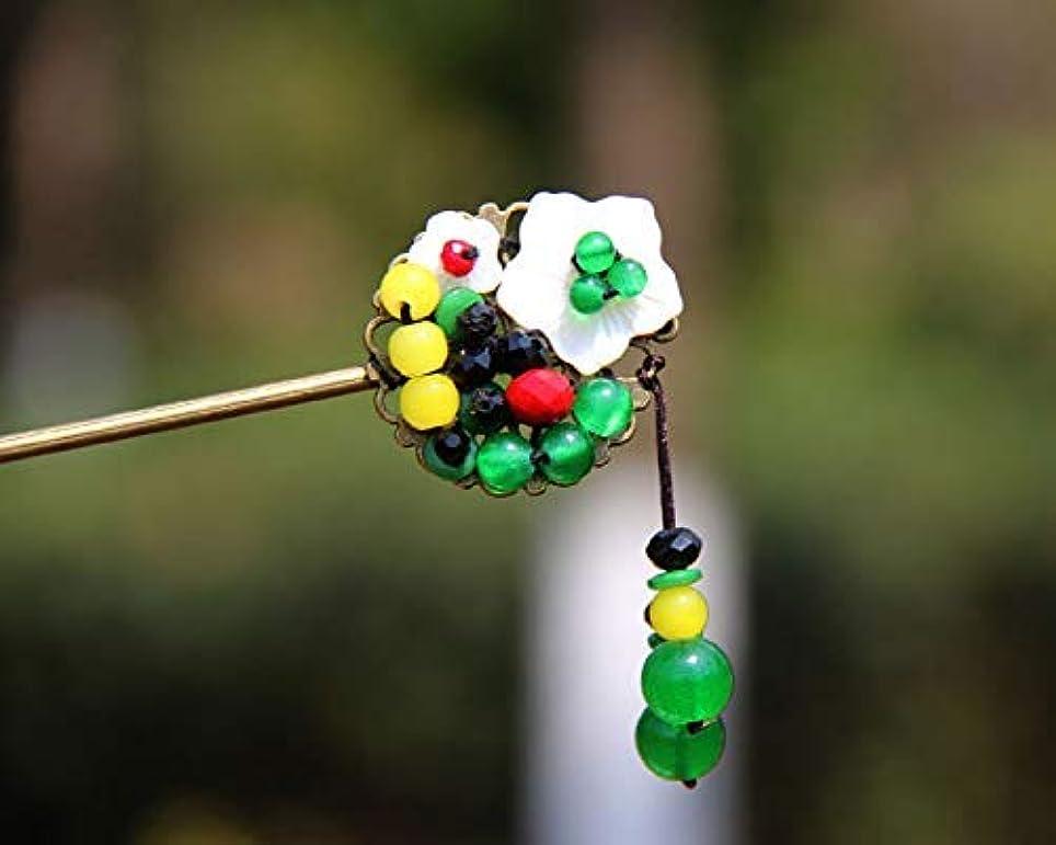 とらえどころのない着替える実行可能HPYOD HOME 古典的なヘアピン中国風のヴィンテージヘアクリップ花嫁のヘアアクセサリー(多色)ヘアピン