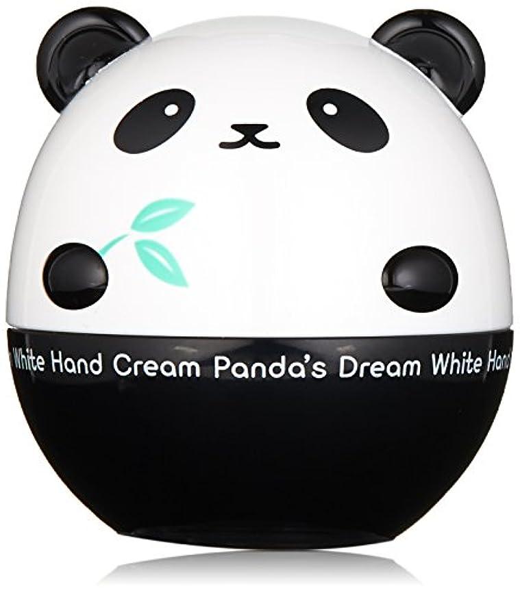 癒す機構浴室TONYMOLY パンダのゆめ ホワイトハンドクリーム 30g Panda's Dream White Hand Cream お手元輝くハンドクリーム美肌成分含有 【韓国コスメ】トニーモリー