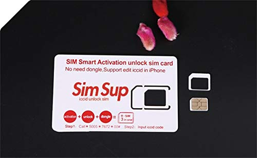R- iCCID Unlock Sim Sup ロック解除アダプタ iOS12 対応 SIM Unlock アンロック 3 in 1 SIMフリー Kayyoo 解除アダプター auto 4G iPhone XS/XS Max/XR / X / 8/8 Plus / 7/7 Plus / 6S / 6S Plus/SE / 6/6 Plus 適応