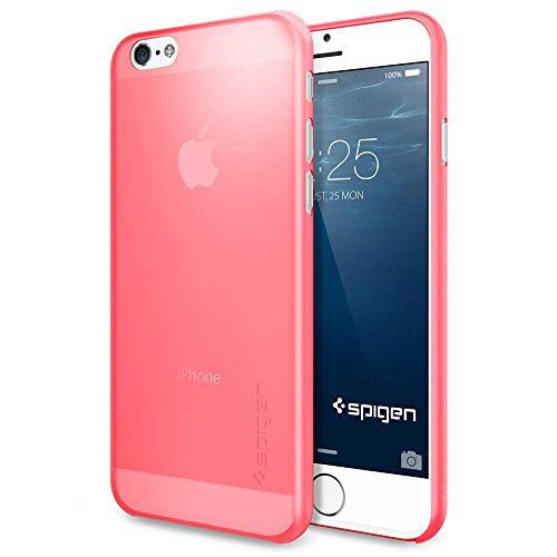iPhone 6 Plus ケース, Spigen® [薄さ0.4mm] エアースキン Apple iPhone (5.5) アイフォン 6 プラス カバー (国内正規品) (アザレア・ピンク 【SGP11160】)