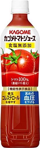カゴメ トマトジュース 食塩無添加 スマートPET 720ml×30本 (お取り寄せ品) 【機能性表示食品】 4901306024232*30