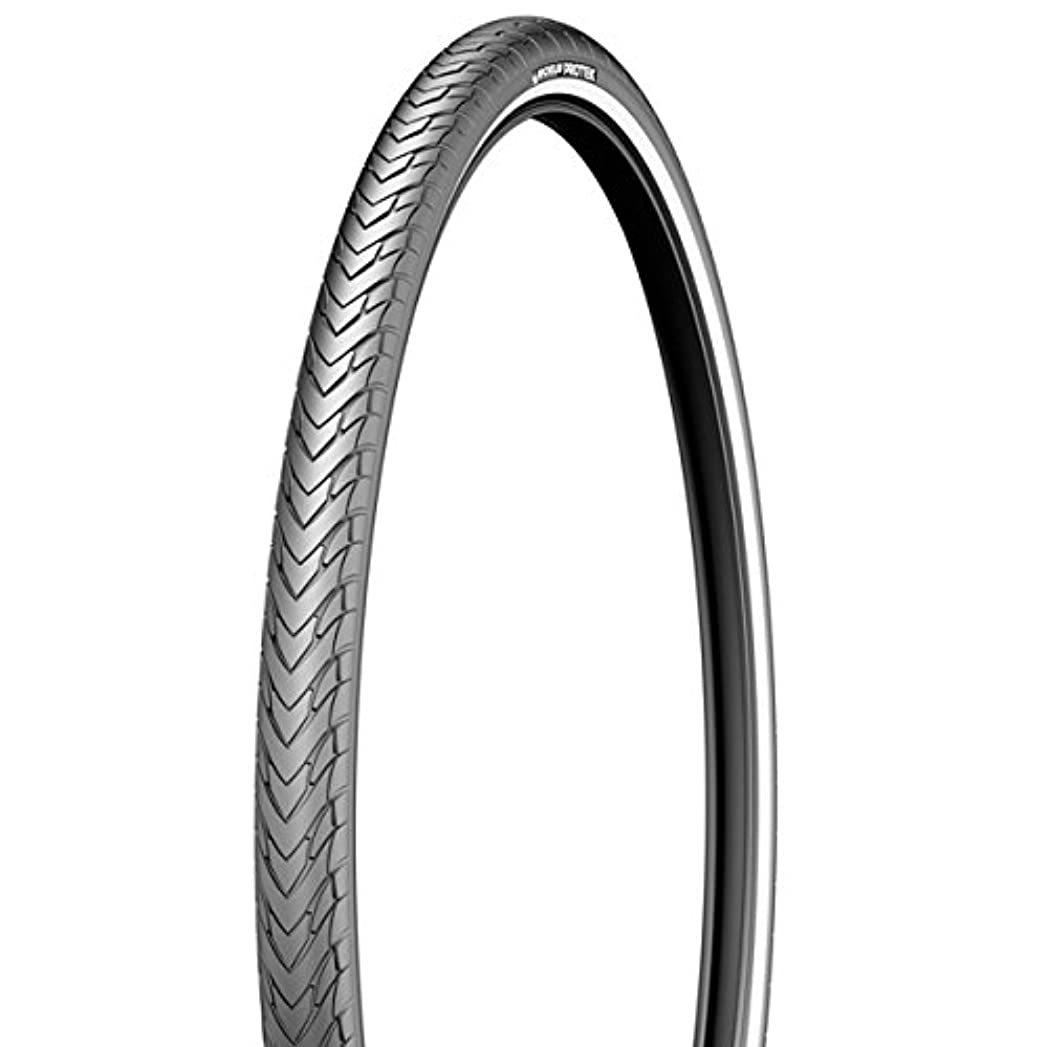財団アイザック剛性Michelin Protek City/Urban Clincher Bicycle Tire (Black - 26 x 1.4) by Michelin