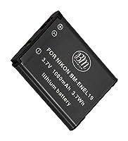 BMプレミアムEN-EL19、ENEL19バッテリーNikon Coolpix、A300、W100、S32、S33、S100、S3100、S3200、S3300、S3500、S3600、S3700、S4100、S4200、S4300、S5200、S5300、S6400、S6500、S6800、S6900、S7000 カメラ。