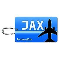 ジャクソンビルフロリダ州(JAX)空港コード IDカード荷物タグ