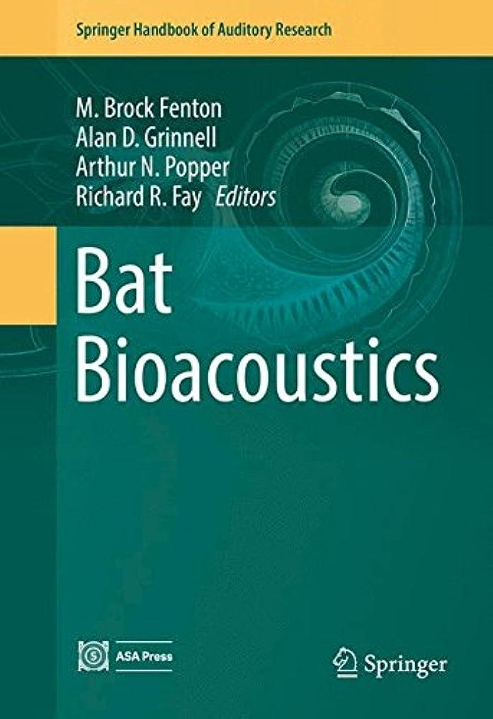 レスリングローラー有益Bat Bioacoustics (Springer Handbook of Auditory Research)