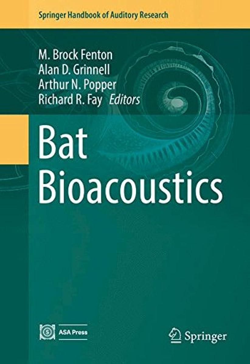 ベテラン落とし穴物語Bat Bioacoustics (Springer Handbook of Auditory Research)
