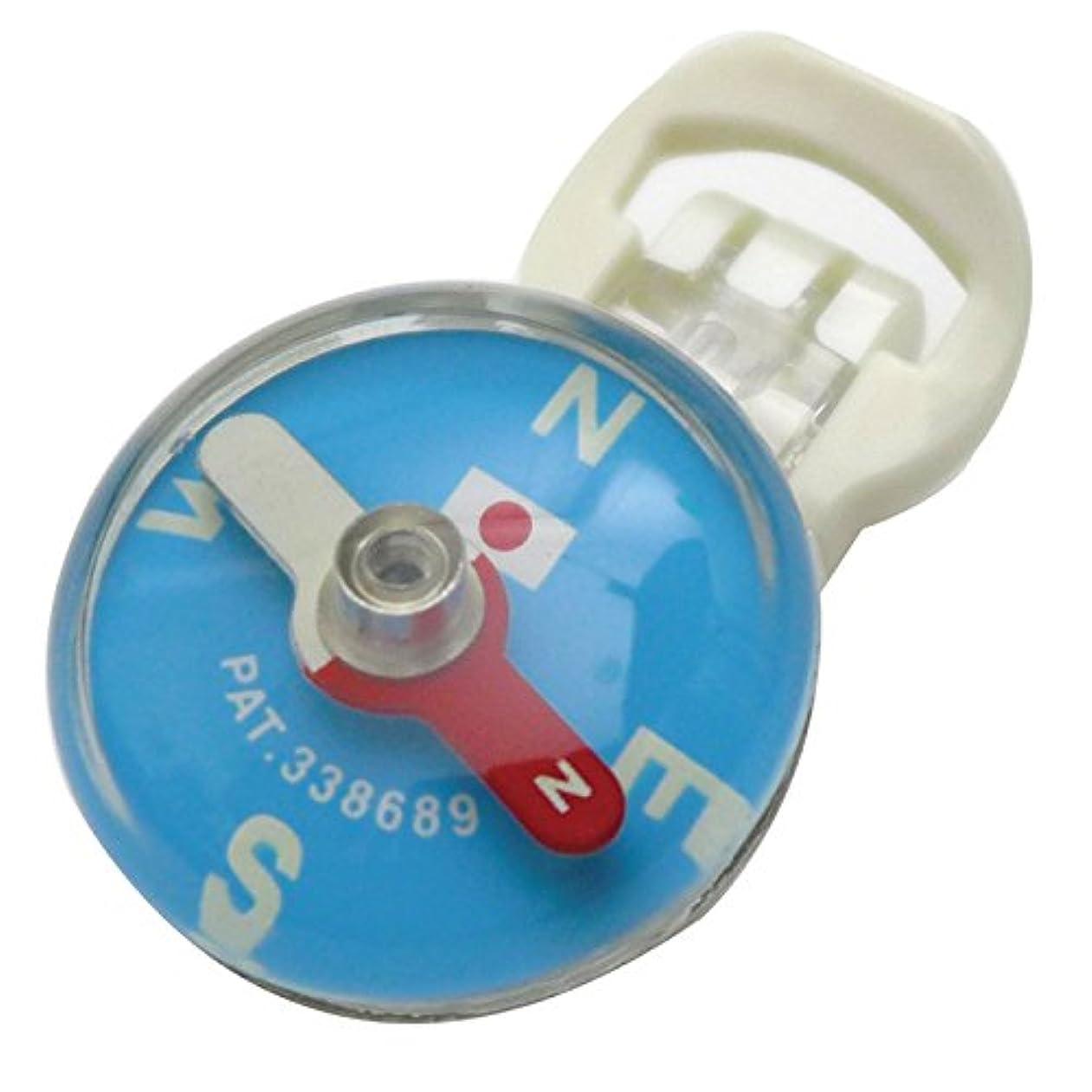 記者早熟疾患ロイヤルブリーズ | クリップ コンパス ブルー 26mm | EDC カトラ | IPX8 | 20気圧防水 |蓄光文字 | 日本製
