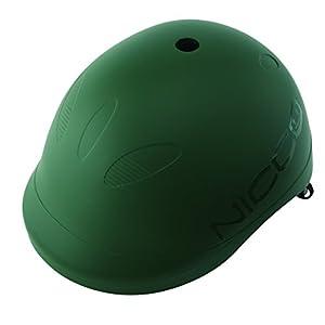 クミカ工業 Nicco ヘルメット ビートル/KM001L/キッズ用/52-56cm/CE/日本製/ハードシェル マットグリーン