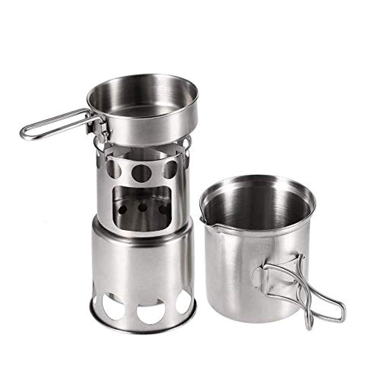 MIRROR SHOP アウトドアクッカー キャンプ用品 収納袋つき 調理器具セット ツーリング フライパン ストーブ キャンプクッカー 鍋 od325