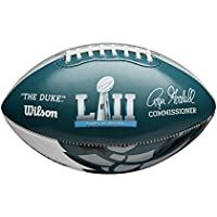 ウィルソンスポーツ用品Super Bowl LII Philadelphia EaglesフィットChampionship Football ,グリーン/ホワイト