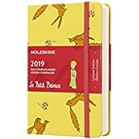 Moleskine 2019 12M Limited Edition Petit Prince Daily, Pocket, Daily, Yellow Sunflower, Hard Cover (3.5 x 5.5)