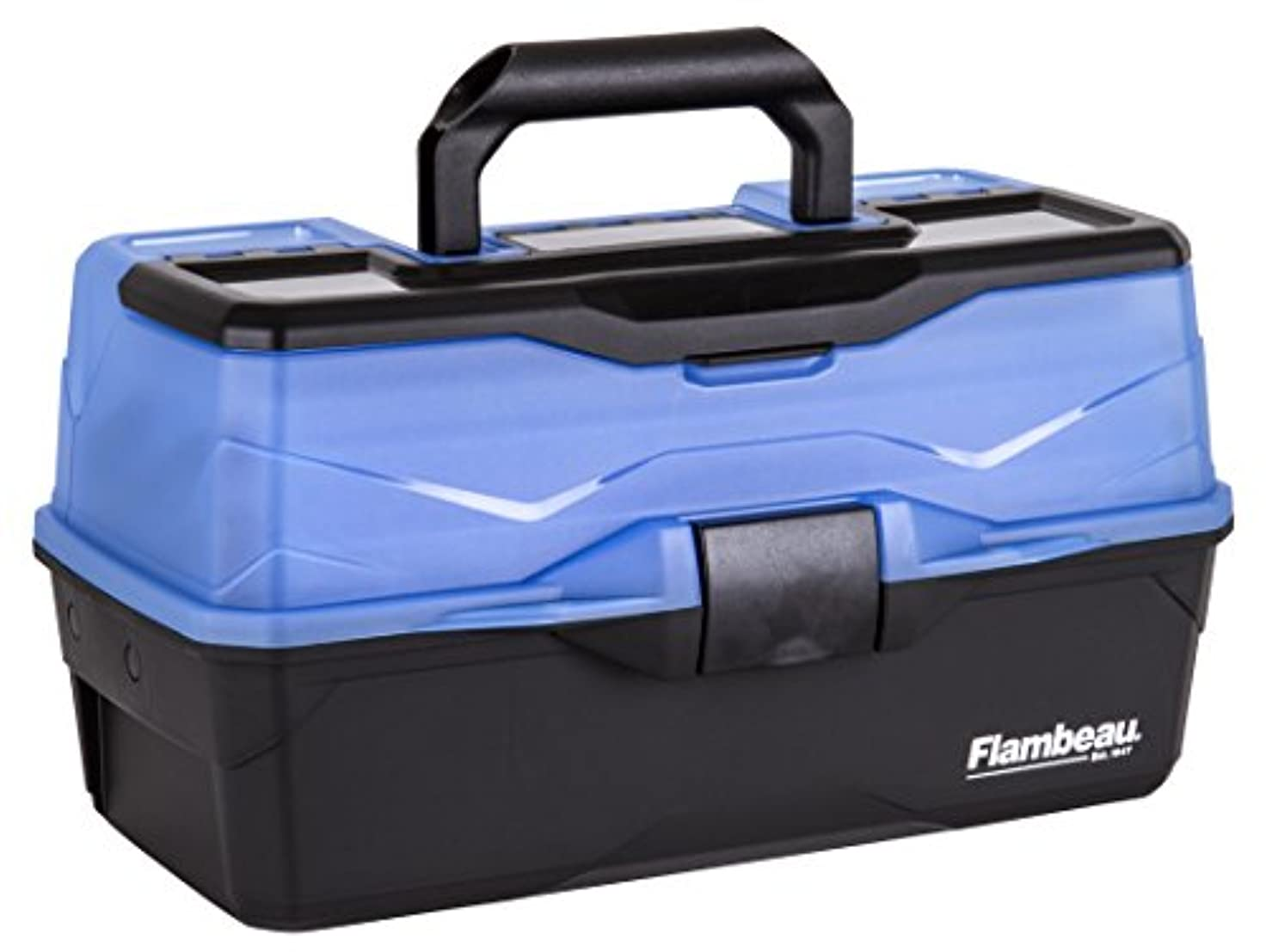 エレガント資金流体Flambeau Outdoors Frost Series 3-Tray Tackle Box, Blue