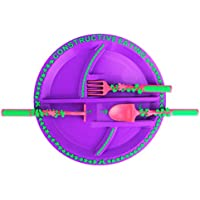 建設的な食事 - ガーデンプレートガーデンフェアリー用具セット