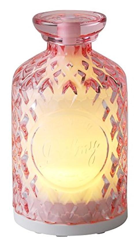 卵リーズ静かなシンプルマインド アロマディフューザー バーミィ(ミスト) ピンク