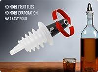 Pouro Plastic Liquor Pour Spout 12 Pk - Twist Open and Closed by Pouro