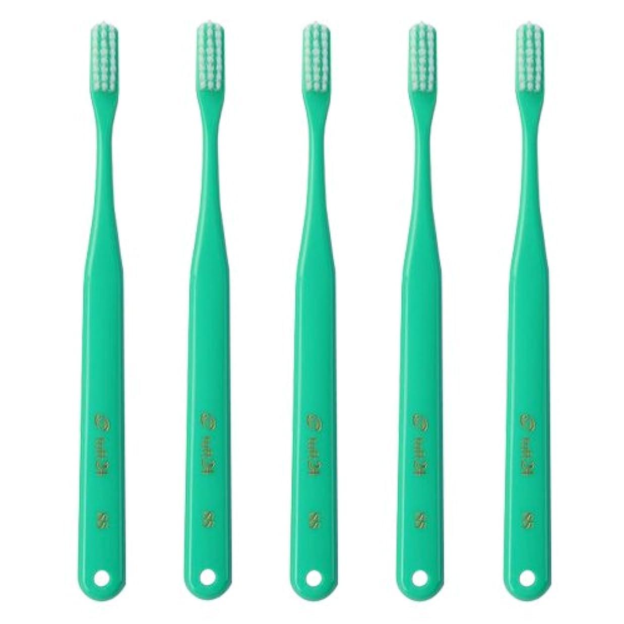 かすかな韓国語ミントタフト24 歯ブラシ 10本セット SS キャップなし (グリーン)