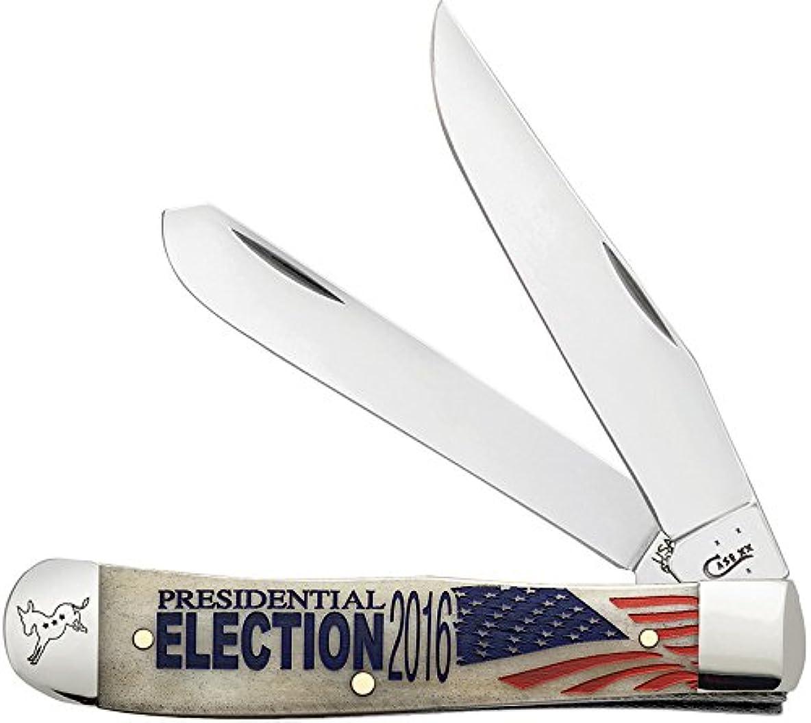 月樹皮排出Election 2016 Trapper by WR Case & Sons Cutlery
