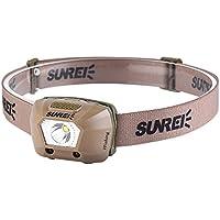 Sunrex iFishing USB充電式強力ライトLED防水センサーヘッドライト