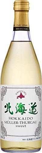 北海道ワイン JWINE おたる 北海道MトゥルガウスイートJ白 1本