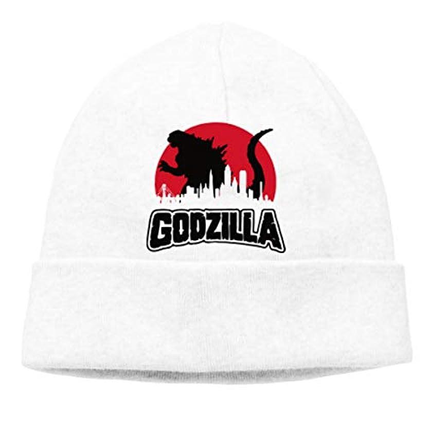 評価する動かないタワーゴジラ Godzilla 未知の生き物 チ性抜群 通気性抜群 柔らかい 防風 無地 優れた弾力性 フェードしません 男性用と女性用のキャップ