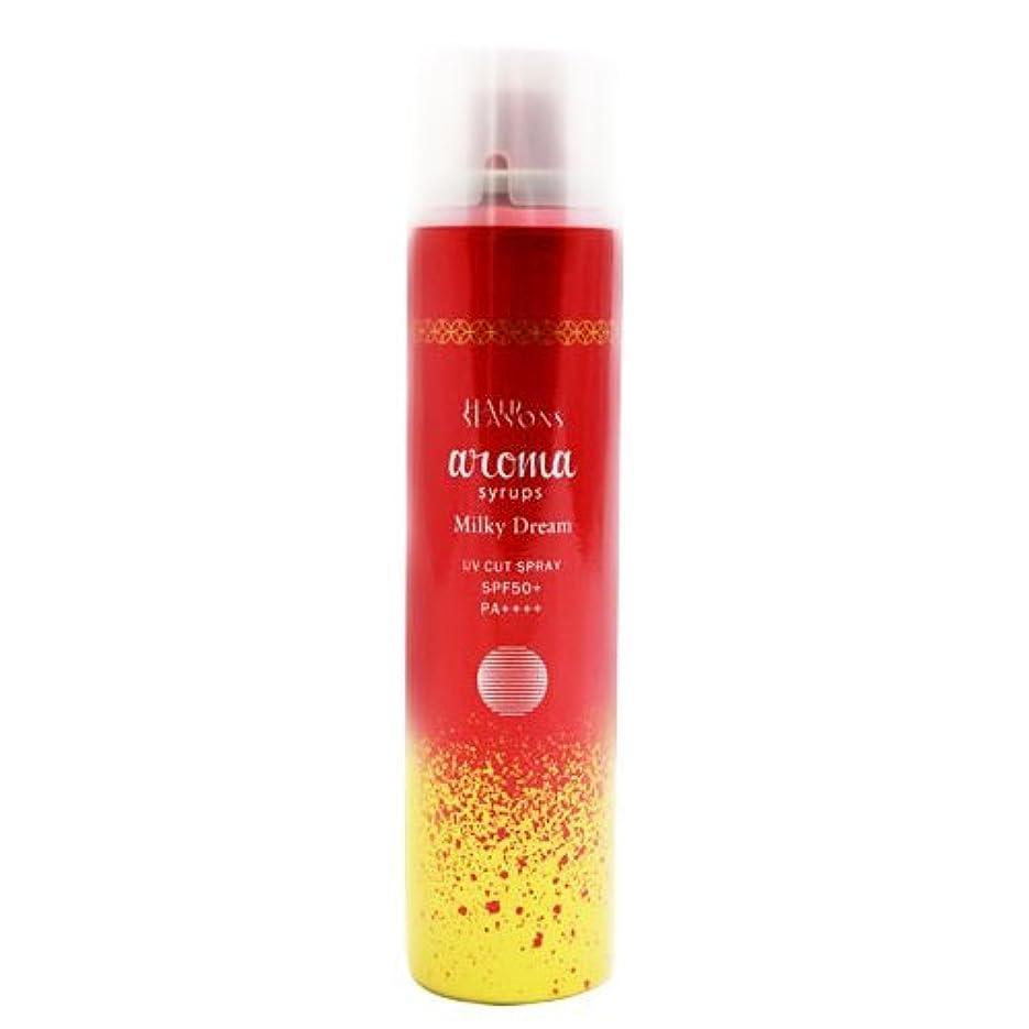 スペインパズルツインデミ ヘアシーズンズ アロマシロップス ミルキードリーム UVカットスプレー 80g DEMI HAIR SEASONS aroma syrups