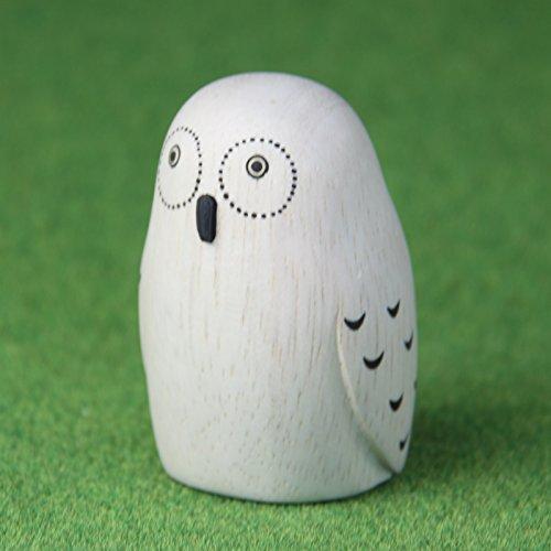 RoomClip商品情報 - ぽれぽれ動物 フクロウ 【T-Lab】手作りの木彫りアニマルインテリア