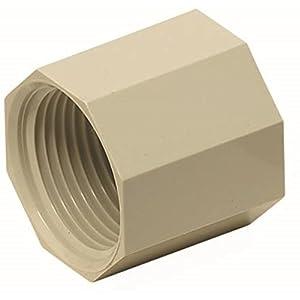 未来工業 CDジョイントナット ネジの呼び22用 G3/4 CD管・PF管適合コネクタ 14・16・22 ベージュ CDJ-22
