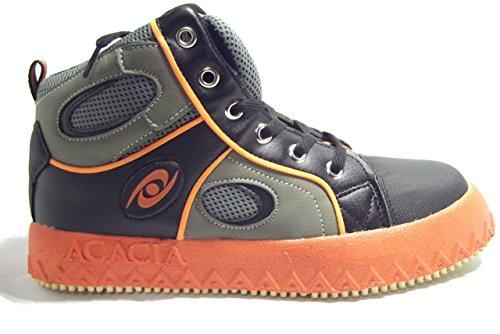 ブルームボールシューズ Broomball Shoes グリップイネーター (オレンジ, US6)