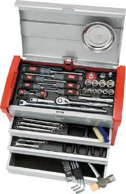 京都機械工具 KTC 12.7sq.工具セット チェストケース SK4580E 1セット 388-0109