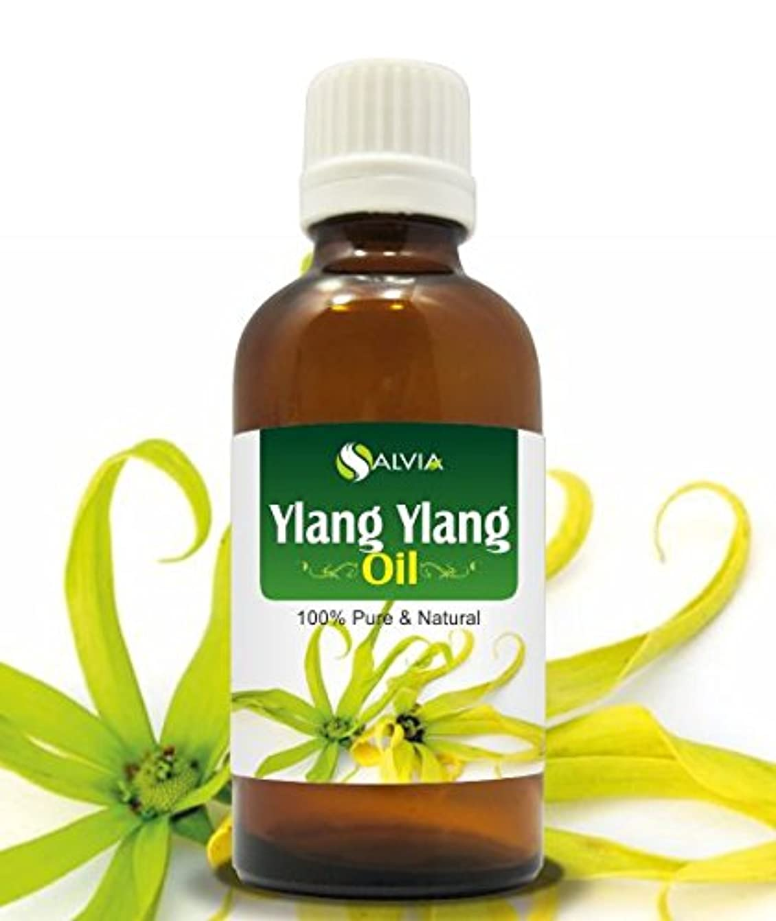 煙細心の警報YLANG YLANG OIL 100% NATURAL PURE UNDILUTED UNCUT ESSENTIAL OIL 100ML