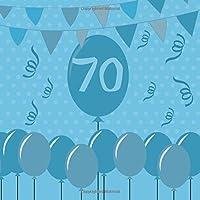 70: libro degli ospiti per il tuo compleanno