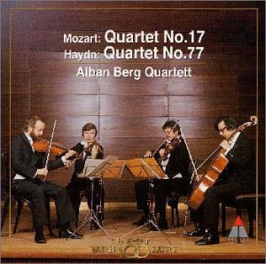 モーツァルト : 弦楽四重奏曲「狩り」&ハイドン : 弦楽四重奏曲「皇帝」
