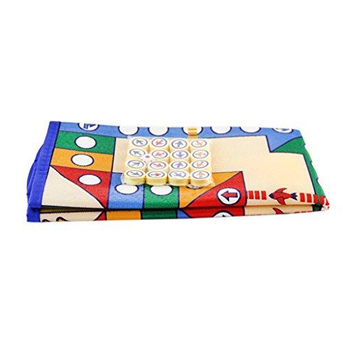 【ノーブランド 品】16PCS 駒 ボードゲーム 飛行 チェスカーペット 子供 古典的 フライトゲーム おもちゃ 贈り物
