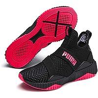 PUMA DEFY MID WN's Women's Fitness & Cross Training Shoes, Black-Pink Alert