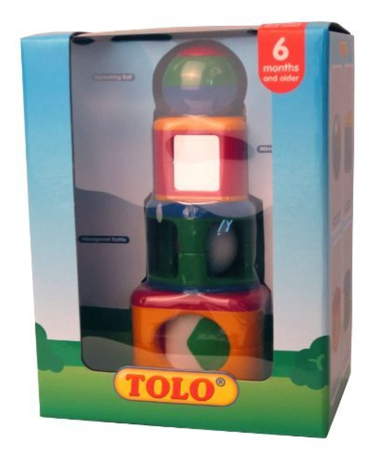 Tolo Toys Stacking Activity Shapes by Tolo [並行輸入品]