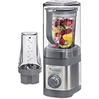 Jamba Appliances Quiet Shield Blender with 32 oz & Personal Single Serve 20 oz Jars, Gray (58916) by Jamba Appliances