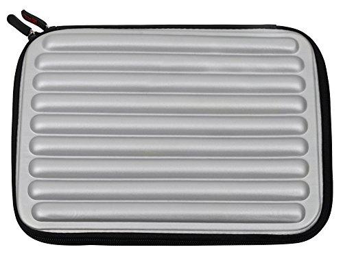 シルバーLaptop Sleeve / Case in衝撃吸収防水メモリフォームfor the Microsoft Surface Book 213.5