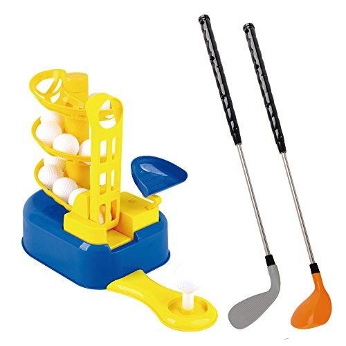 ミニゴルフトレーナー おもちゃ 子供 練習 パッティング キッズスポーツ 玩具 Mini Golf ...