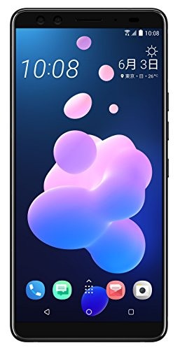 HTC 6.0インチ U12+ SIMフリースマートフォン トランスルーセントブルー【日本正規代理店品】 U12-PLUS-BLUE